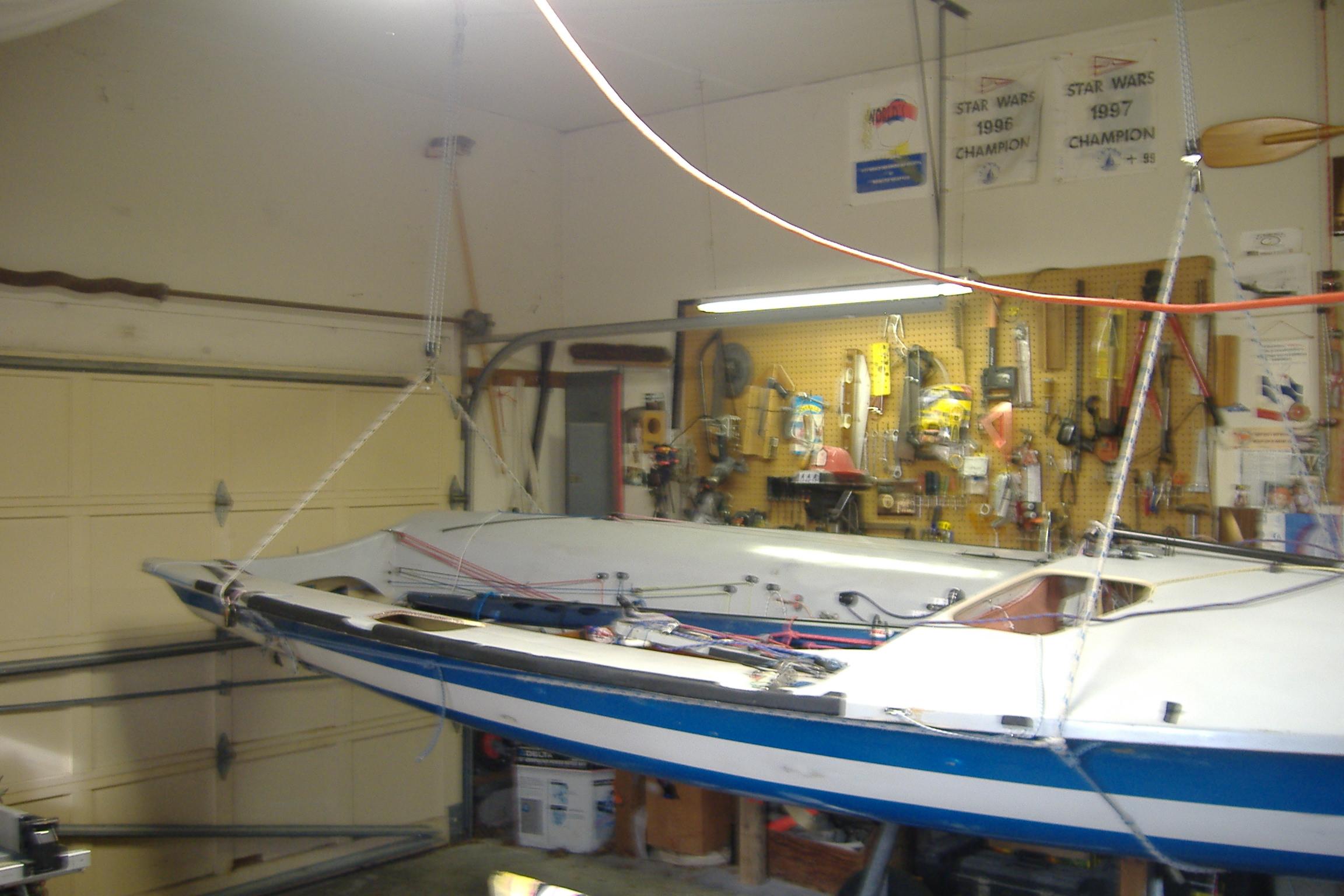 Henry's Boat Hoist